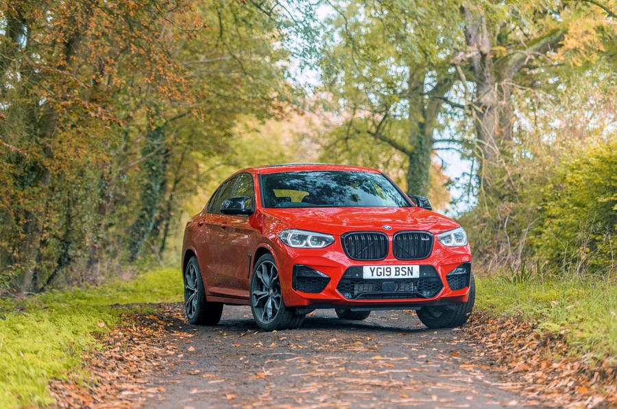 BMW X4 M Competition 2019 road test review - static