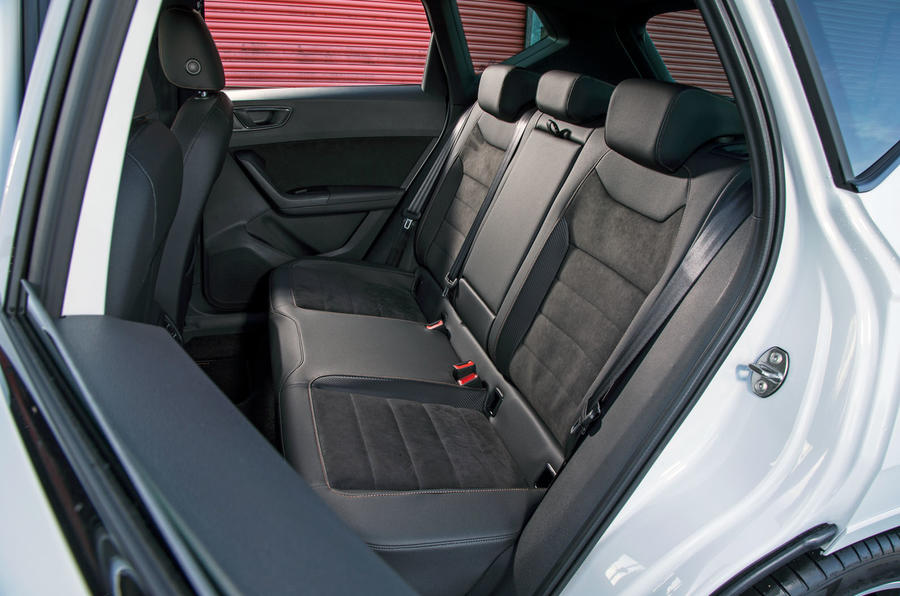 Cupra Ateca 2019 road test review - rear seats