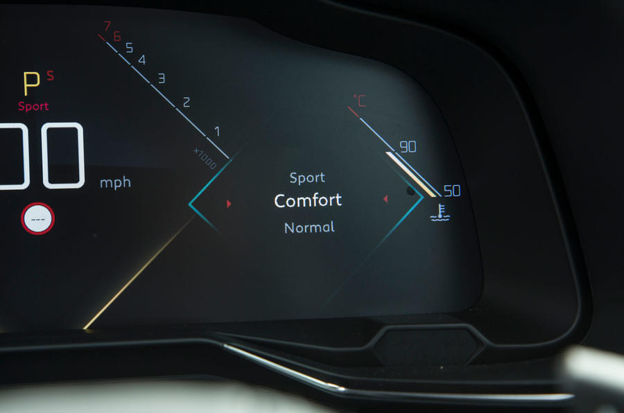 DS 7 Crossback 2018 road test review driving modes