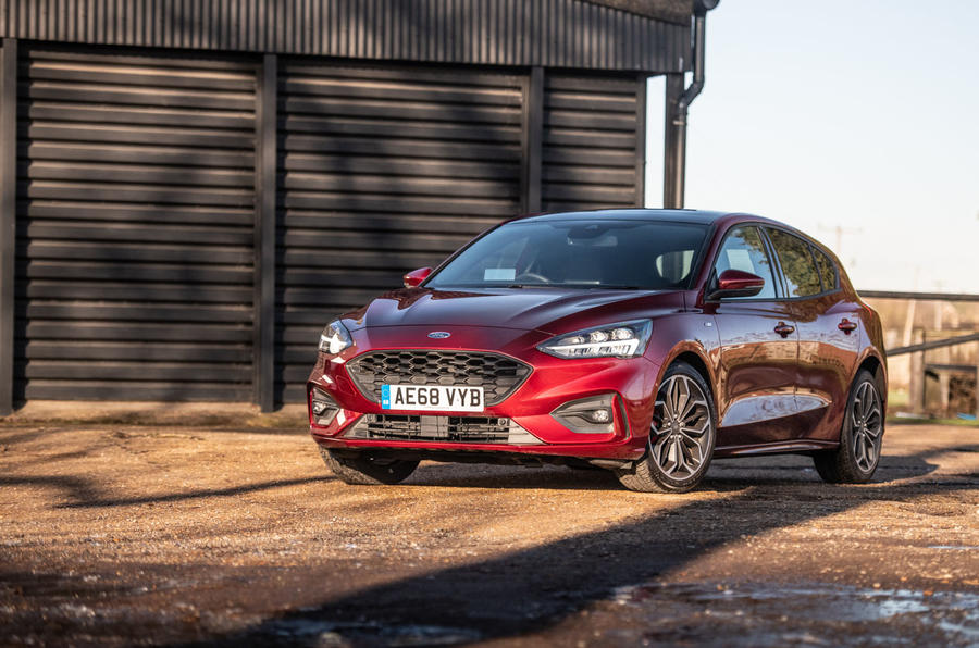 Ford Focus ST-line X 2019 road test review - static