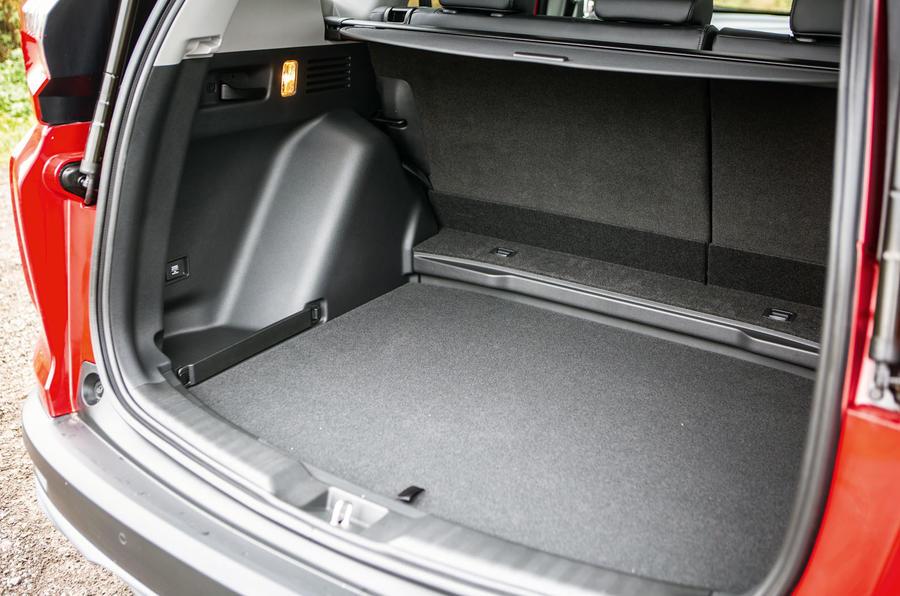 Honda CR-V 2018 road test review - boot