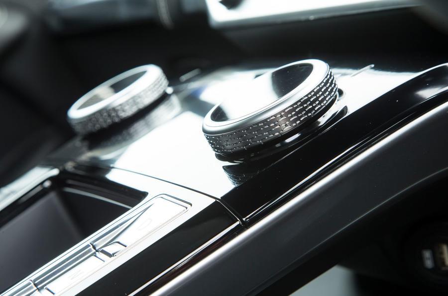 Jaguar I-Pace 2018 road test review aircon dials
