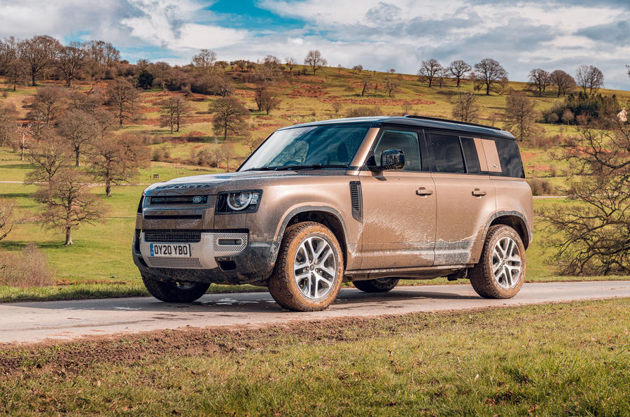 Examen de l'essai routier du Land Rover Defender 2020 - statique