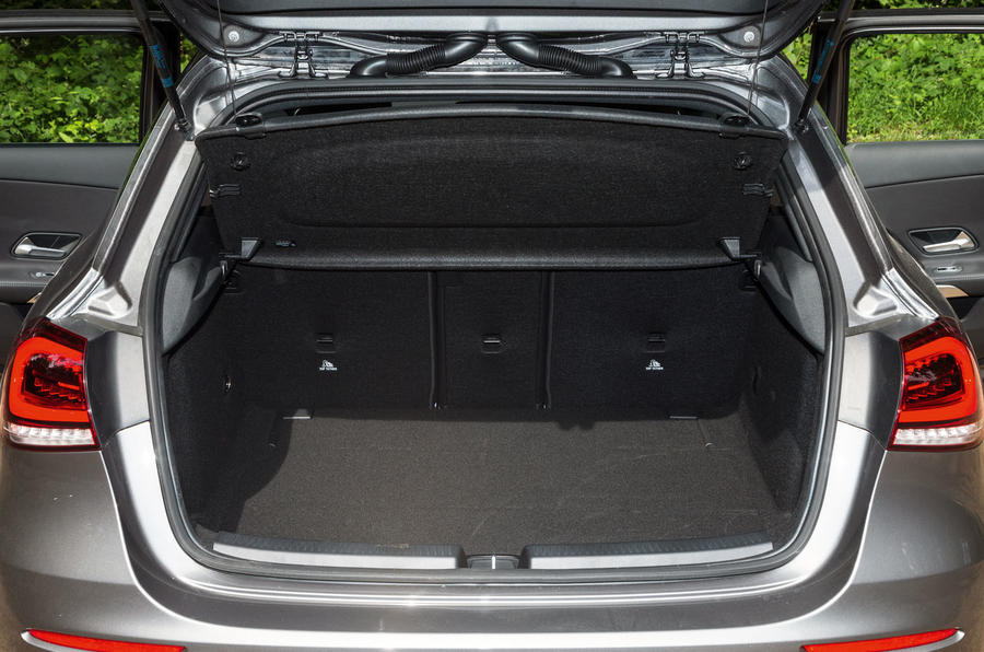 Mercedes-Benz A-Class 2018 road test review boot space
