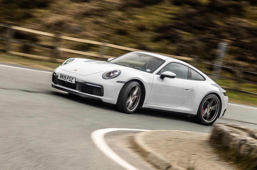 Porsche 911 Carrera S 2019 road test review - on the road side