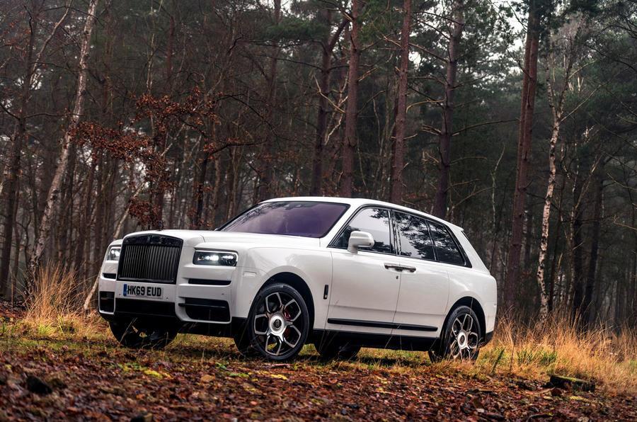 Examen de l'essai routier de la Rolls Royce Cullinan 2020 - statique