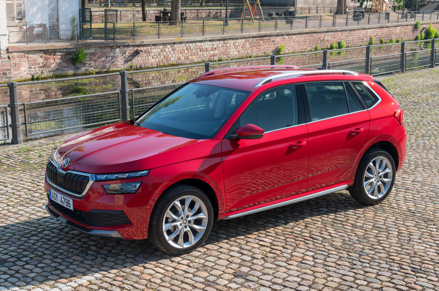 Skoda Kamiq 2019 road test review - static front
