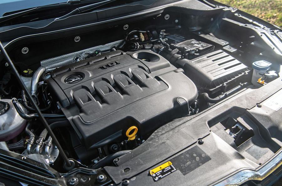 Skoda Karoq Scout 2019 road test review - engine