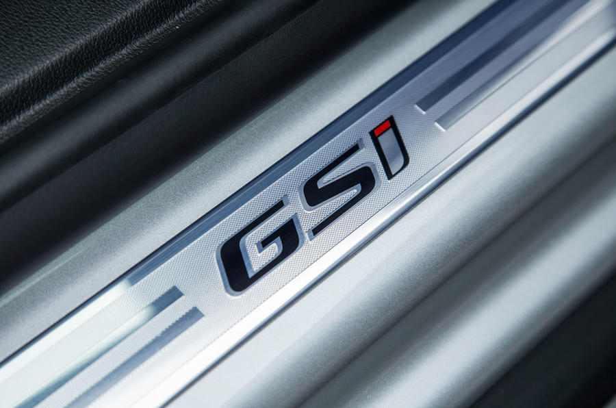Vauxhall Insignia Sports Tourer GSI review scuff plates
