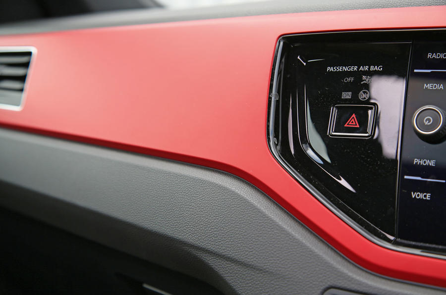 Volkswagen Polo GTI 2018 road test review interior trim