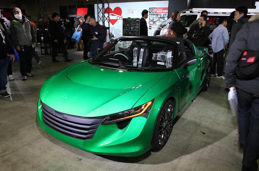 Tokyo auto salon 2014 show gallery autocar - Tokyo motor show 2014 ...