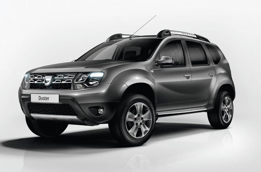 Facelifted Dacia Duster revealed