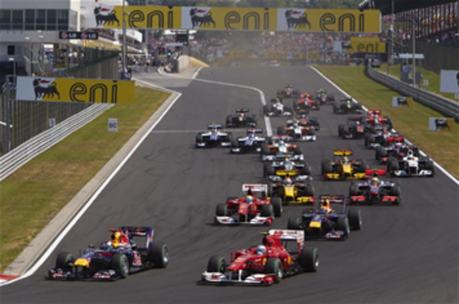 F1 2011 calendar announced