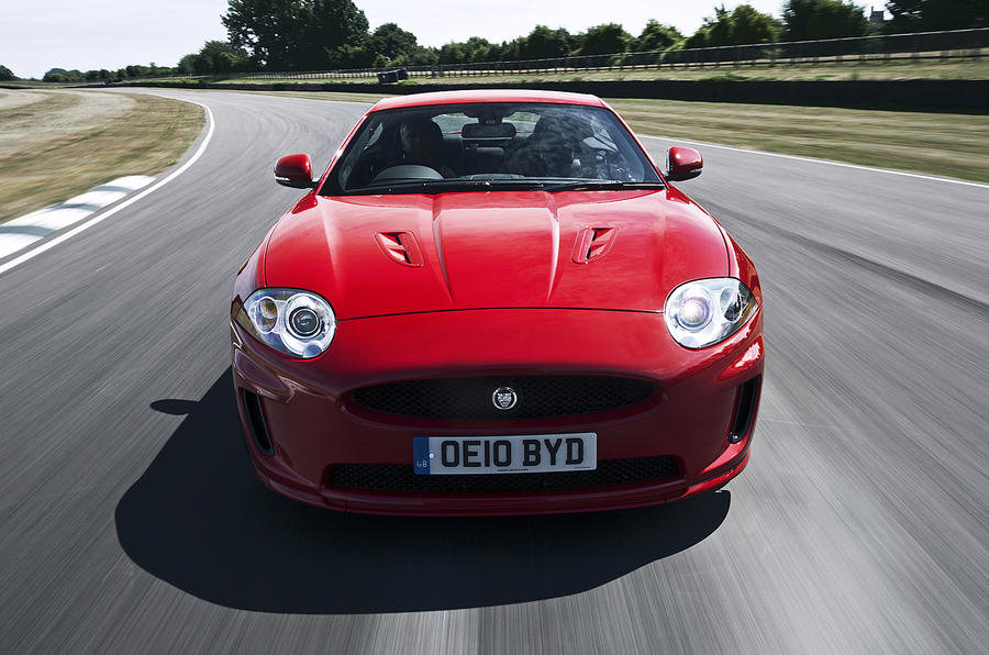 Jaguar XKR front end