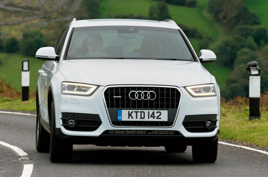 Audi Q3 cornering