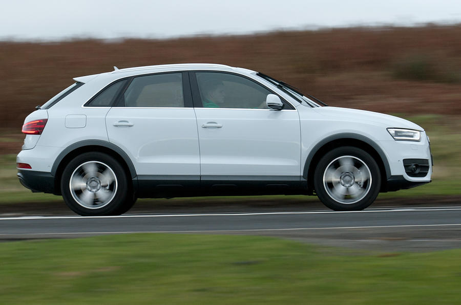 Audi Q3 side profile