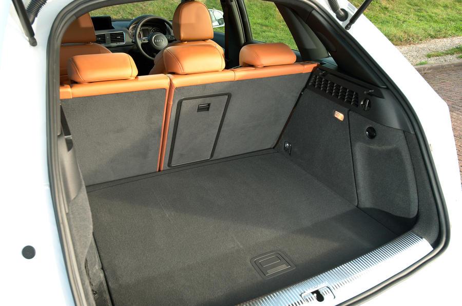 Audi Q3 boot space