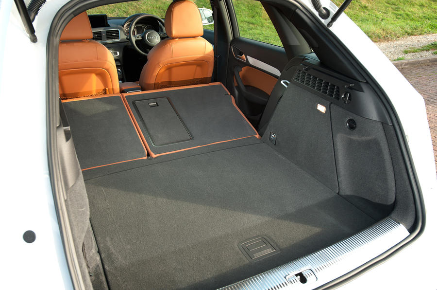 Audi Q3 seating flexibility