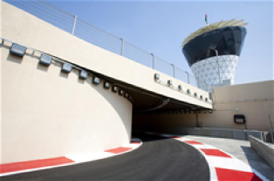 Abu Dhabi F1 track - virtual tour