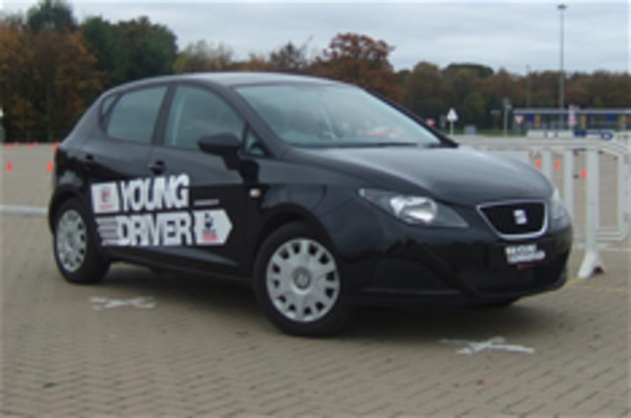 Driving lessons for 11-year olds