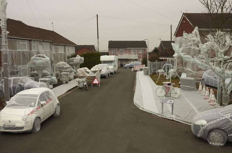 British street 'bubble wrapped'