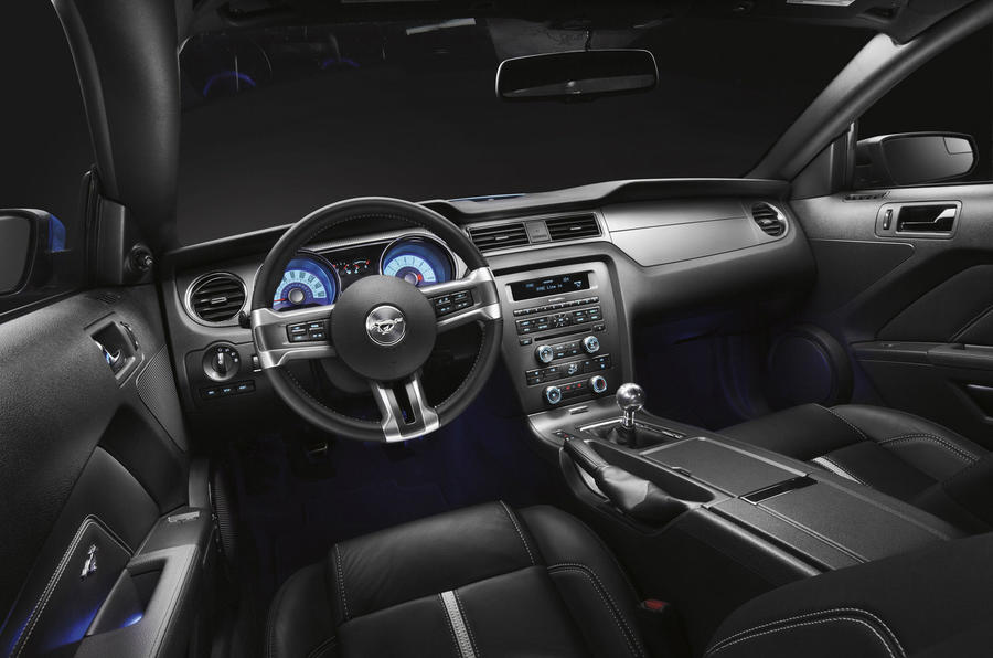 Ford Mustang GT dashboard