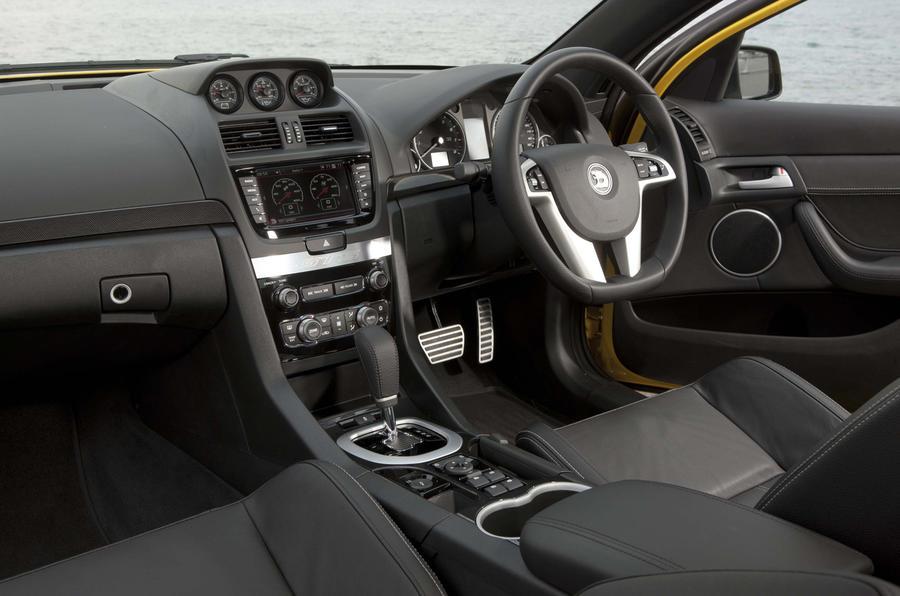 Vauxhall VXR8 GTS interior