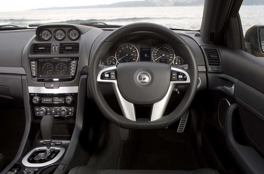 Vauxhall VXR8 GTS dashboard