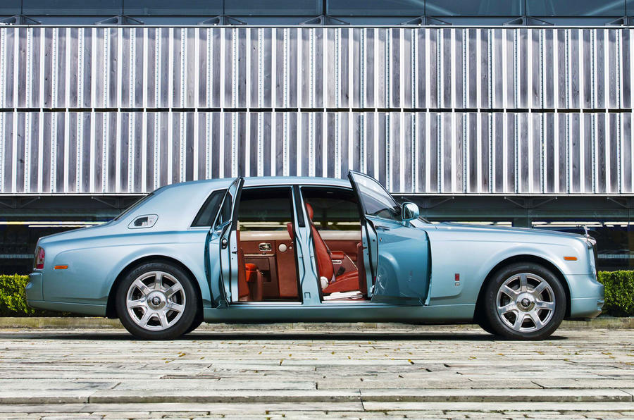 Rolls-Royce Phantom 102EX doors open