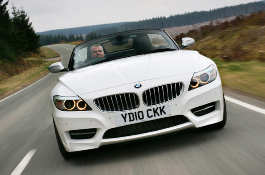 BMW Z4 sDrive35iS front end