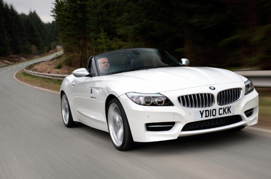 BMW Z4 sDrive35iS cornering