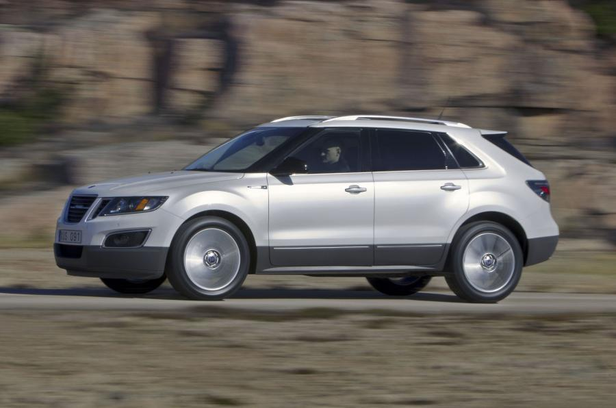 Saab 9-4X side profile