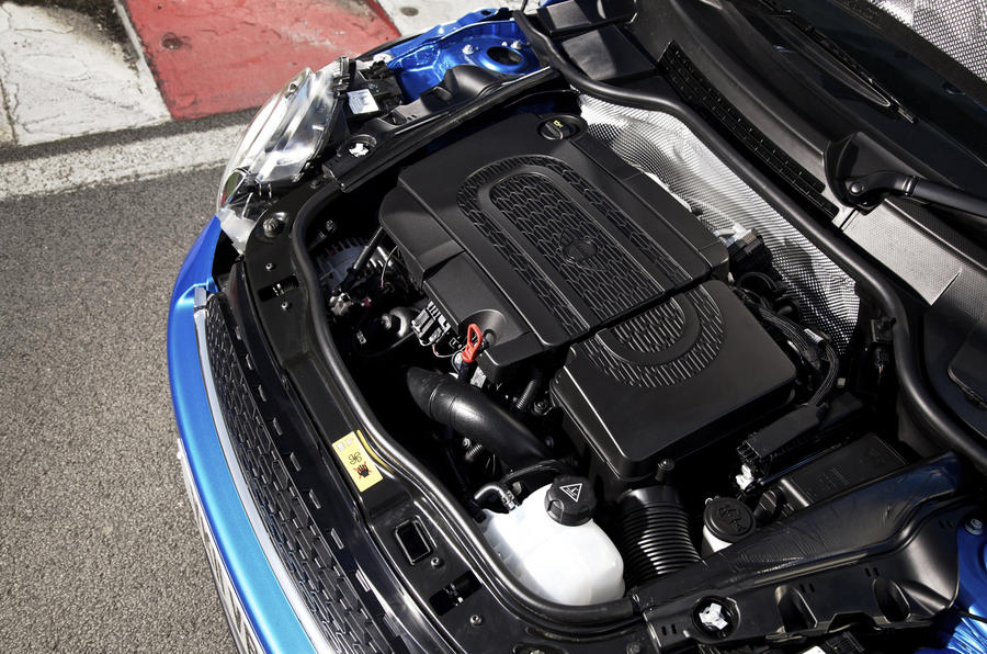 2.0-litre Mini Cooper SD engine