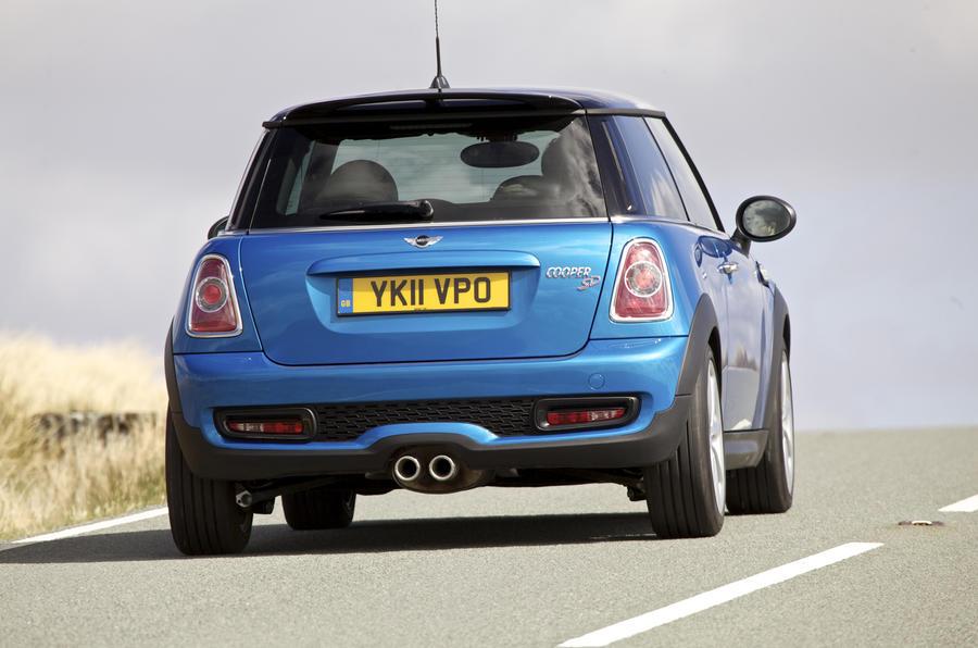 Mini Cooper SD rear