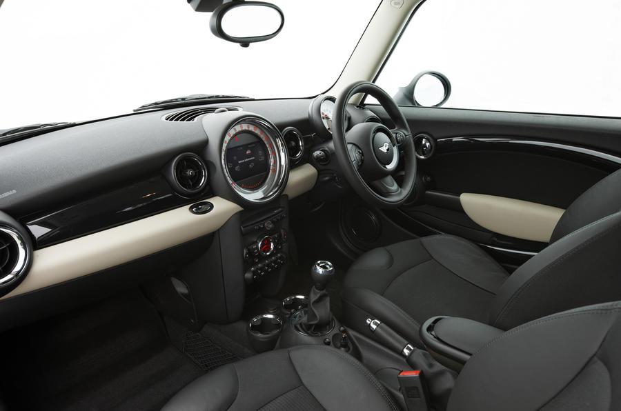 Mini Cooper SD interior