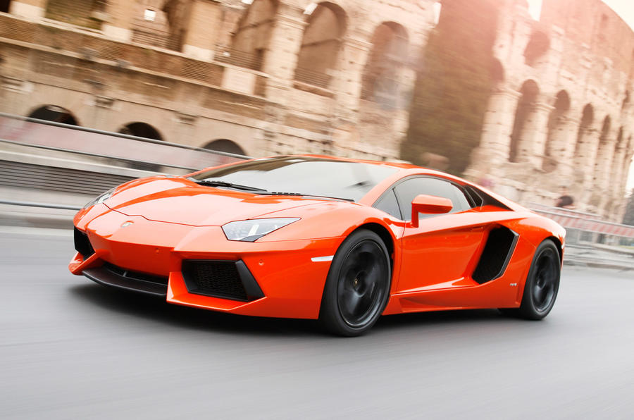 Lamborghini Aventador front quarter