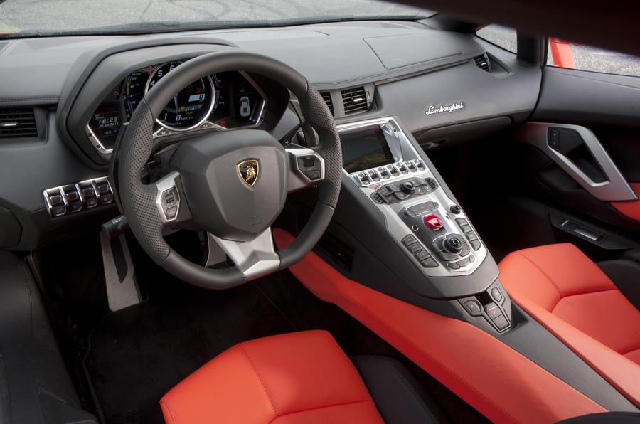 Lamborghini Aventador dashboard