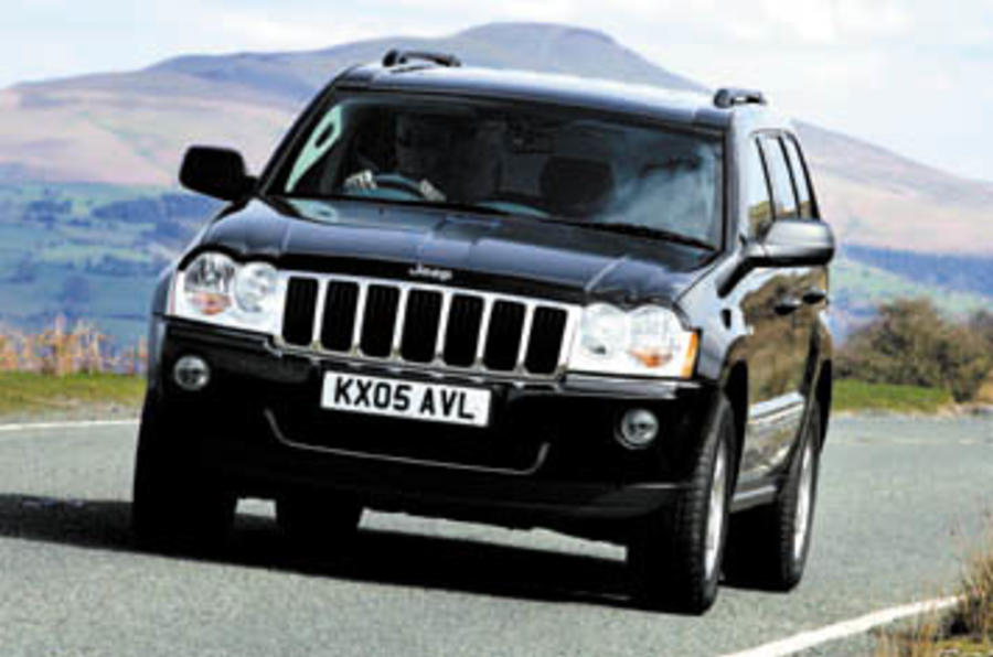 Jeep Grand Cherokee V8 review | Autocar