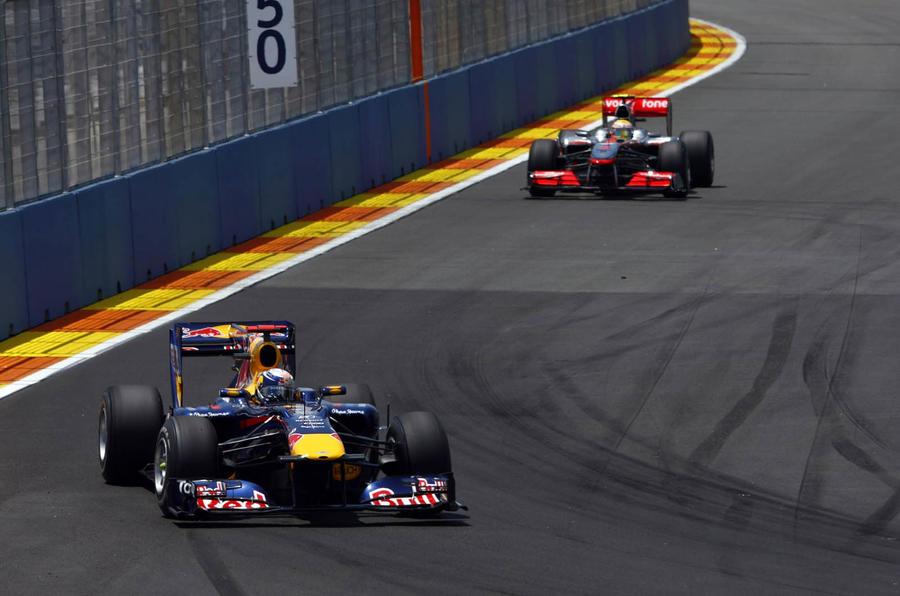 Vettel wins Valencia GP