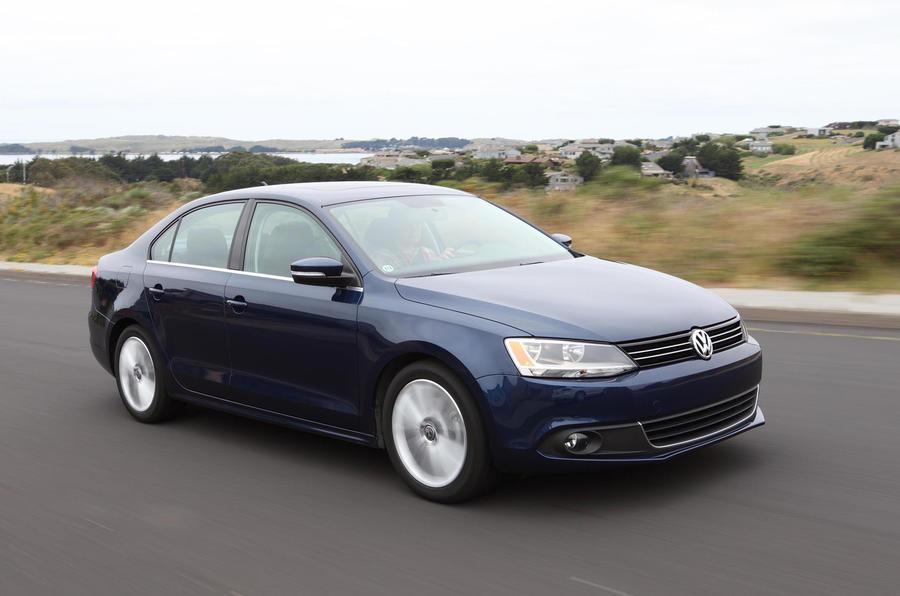 Volkswagen Jetta front profile