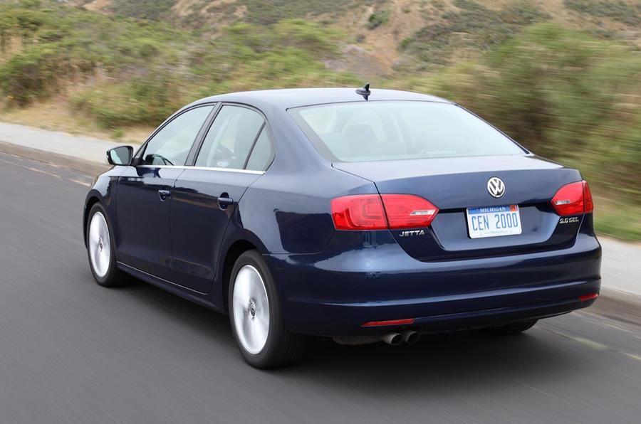 Volkswagen Jetta rear profile