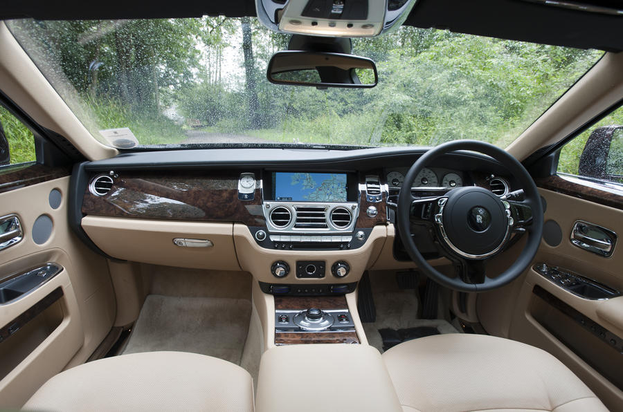 Rolls-Royce Ghost EWB interior