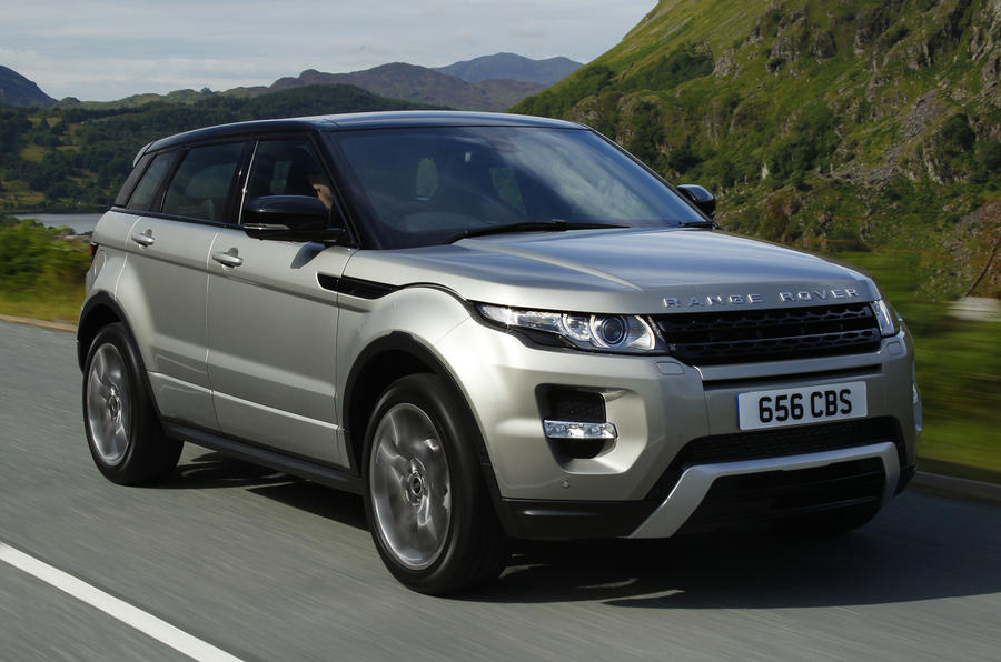 range rover evoque si4 first drive. Black Bedroom Furniture Sets. Home Design Ideas