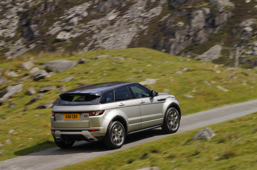 £38,995 Range Rover Evoque Si4