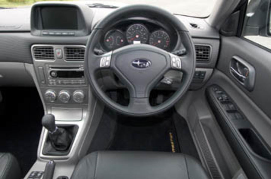 Subaru Forester 2.5 XTE