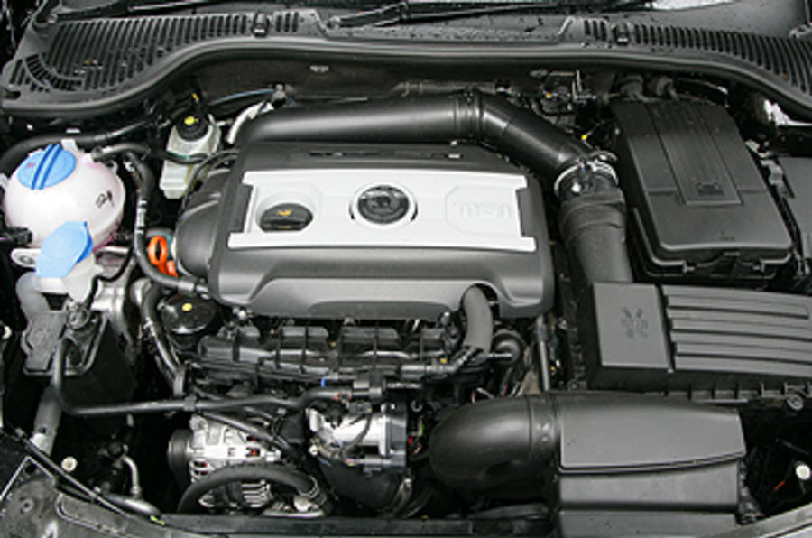 2.0-litre Skoda Octavia vRS petrol engine
