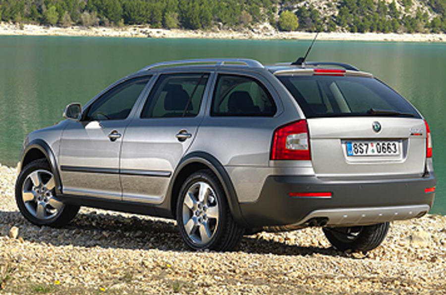 skoda octavia scout 2 0 tdi review autocar. Black Bedroom Furniture Sets. Home Design Ideas