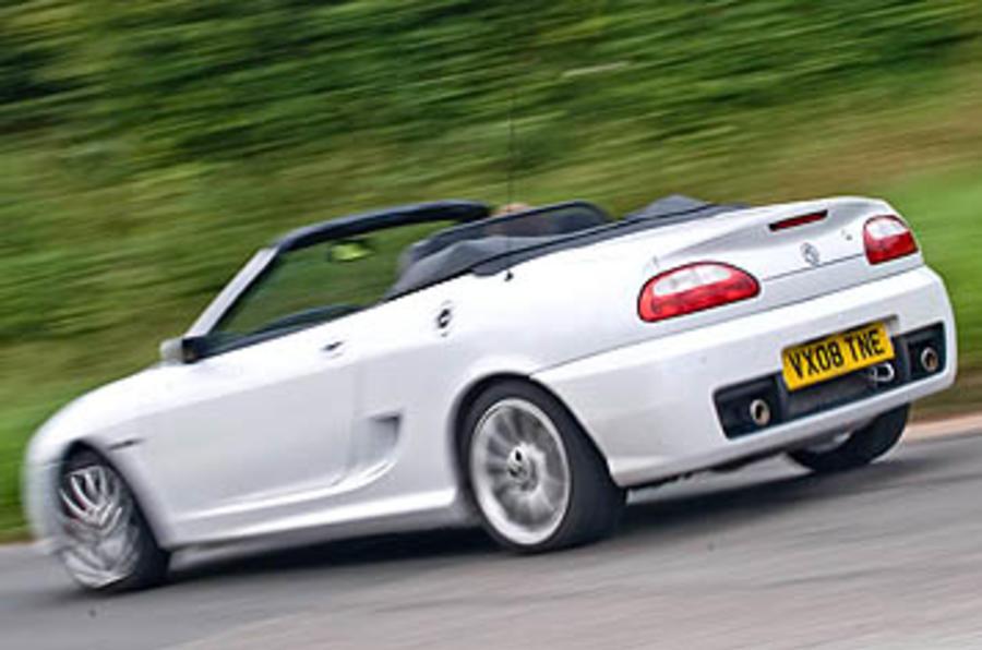 MG TF LE500 review  Autocar