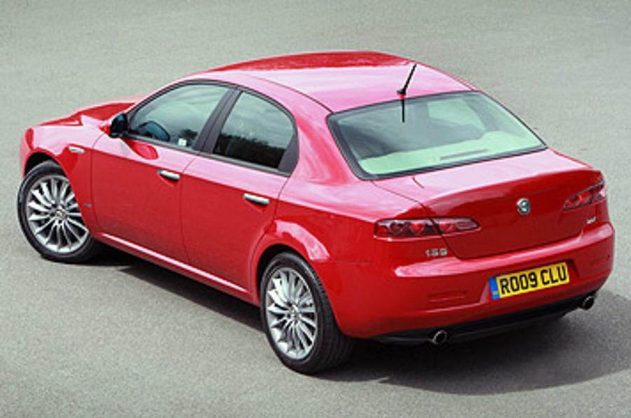 Alfa Romeo 159 rear quarter