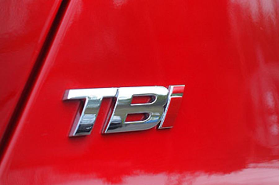 Alfa Romeo 159 1750 TBi badging